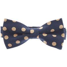 Mens Big Dots Pre-Tied Bow Tie (YB015)