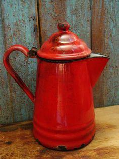 Graniteware Coffee Pot.