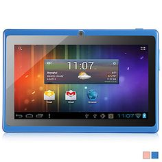 YEAHPAD - Android 4.1 Tablet with 7 Inch  Capacitive Touchscreen and Dual-Camera(512M/8G/WiFi/2 Colors Selectable) – EUR € 57.74