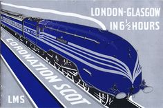 An image from 1937 for the Coronation Scot