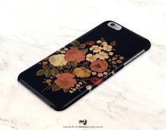 iPhone 7 Case matte iPhone 6s Case Floral iPhone 6s von iDedeCase