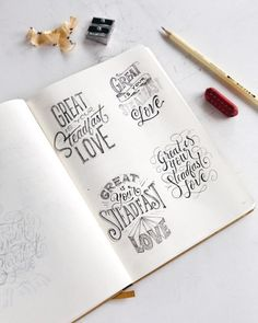 or 4 ? Chalk Lettering, Hand Lettering Quotes, Creative Lettering, Lettering Styles, Brush Lettering, Lettering Design, Calligraphy Letters, Typography Letters, Graphic Design Typography