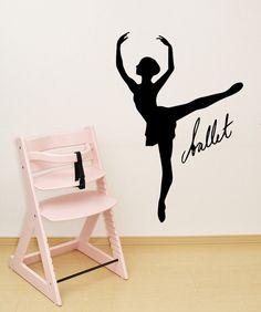 Vinyl Wall Decal Sticker Ballet Dancer Ballerina by Stickerbrand, $34.95