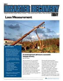Loss Measurement: A careful approach will ensure a successful financial recovery #FEMA