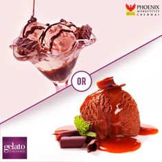 Ice-creams are a delight always!  Which one would you pick-The lip-smacking Choco #brownie fusion or the scrumptious #Chocolate #fudge brownie from #Gelato #Italiano?  #food #icecream
