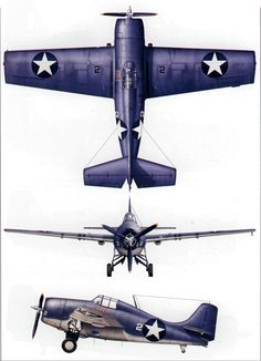 Grumman F4F-4 as flown by Captain Marion E. Carl, VMF-223, USMC, on Guadalcanal during September 1942.