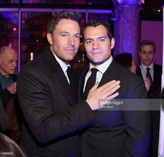 Ben Affleck and Henry Cavill attend the after party for 'Batman V Superman: Dawn Of Justice' on March 20, 2016 in New York City.