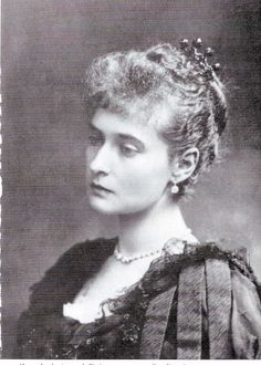 Tsarina Alexandra  This is a great picture of her, a very beautiful woman in her youth