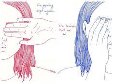 25 ilustraciones sólo para mujeres solitarias y cansadas de las decepciones amorosas.