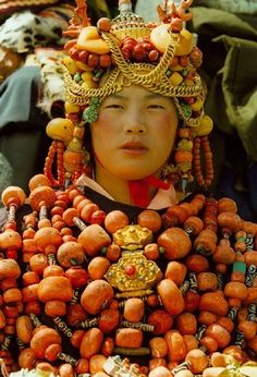 Khampa Tibetan Costume at Litang