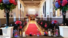 Sarah & Brian's wedding ceremony in the Queen Anne Room at http://www.edinburghcastle.gov.uk/ #roseparksweddings