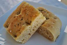 Bare enda en matblogg...: Focaccia Cornbread, Ethnic Recipes, Food, Millet Bread, Essen, Meals, Yemek, Corn Bread, Eten