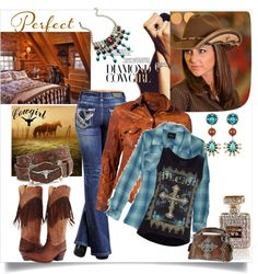 """""""Contest: Cowgirl Up!"""" by judysingley-polyvore ❤ liked on Polyvore"""