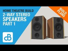 In this top video (Part I start to design and model a pair of stereo speakers for use in my home theatre for the front left and right channels. This video Hifi Audio, Stereo Speakers, Home Theater, Theatre, Top Videos, 2 Way, How To Plan, Building, Youtube