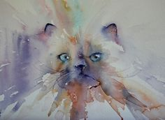 Watercolor Paintings Art by Jean Haines (22)