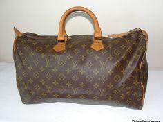Louis Vuitton Speedy 40 Luggage Monogram Bag - Satchel $480
