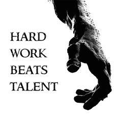 Hard work beats talent #calstrength #weightlifting #motivation