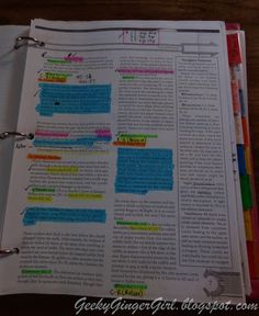How to use highlighters to organize information in your D&D campaign.  (DM, Dungeons and Dragons, RPG)