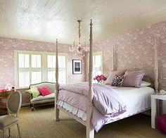 Kid's Bedroom Ideas for Girls looks like my moms bed