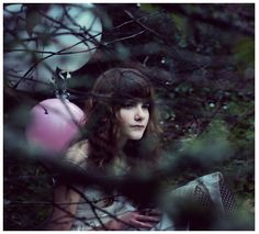 selective focus through branches. Maybe bring some balloons for pops of color? Olivia Bee, Female Characters, Natural Light, Jon Snow, Things That Bounce, Color Pop, Fairy Tales, The Outsiders, Wonder Woman