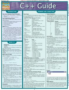Ultimate guide to C++ programming language. Guide assumes that all readers have a general understanding of programming languages, and an understanding of the PC/Wintel environment. Computer Programming Languages, Computer Coding, Computer Technology, Computer Science, C Programming Learning, Html Programming Language, Computer Engineering, Computer Tips, Java