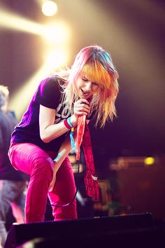 Hayley Williams. My alter ego... I'm an alt-rock band lead singer in my other life ;)