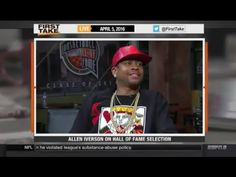 ESPN First Take - Allen Iverson Selected To 2016 Basketball Hall Of Fame...