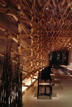 Starbucks Coffee at Dazaifutenmangu Omotesando - Interiors, Retail Projects, Wood, Structure, Metal - Architect Magazine