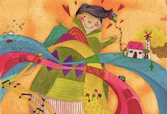 Ένα κείμενο, μία εικόνα: Όλα τα χρώματα στα μάτια μου Drama Games, Blog, Painting, Painting Art, Blogging, Paintings, Painted Canvas, Drawings