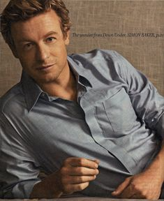 Simon Baker - you're not getting older...you're getting better.