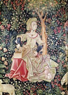 Box Loom: tape loom le travail de la laine tapestry C Inkle Weaving, Inkle Loom, Card Weaving, Tablet Weaving, Weaving Art, Tapestry Weaving, Weaving Patterns, Medieval Tapestry, Medieval Art