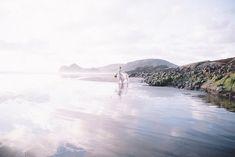 Ocean ballet themed wedding | Captured By Keryn | see more on: http://burnettsboards.com/2016/02/dramatic-romantic-ocean-cave-ballet/