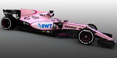Force India bekent kleur: VJM10 per direct in het roze