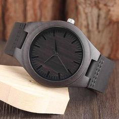 Great Engraved Wooden Watch Gifts For Husband Great Gifts For Wife, Gifts For Fiance, Perfect Gift For Dad, Gifts For Father, Love Gifts, Dad Gifts, Mens Watches Leather, Watches For Men, Leather Wallet