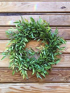 "12"" Faux Greenery Wreath/Year Round Wreath/Elegant Wreath/Summer Wreath/Winter Wreath/Spring Wreath/Fall Wreath/Mother's Day/Housewarming"