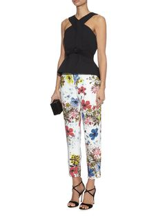Sierra floral-print trousers | Erdem | MATCHESFASHION.COM