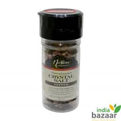 NIRVANA ORGANICS Himalayan Salt Pepper 100g  This blend comprises of Himalayan crystal salt, White and green peppercorns and certified black peppercorns as well. It can be best used as a condiment and simply enhances the taste of the food manifold. •It is one of the most flavorsome and holistic salt along with peppercorn. •Comprises of Himalayan crystal salt perfectly blended with organic herbs and spices.