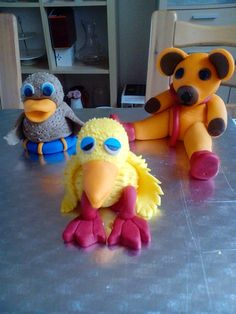 Bamse,kylling and ælling