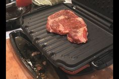 Video: Cooking Ribeye Steak On The George Foreman Grill