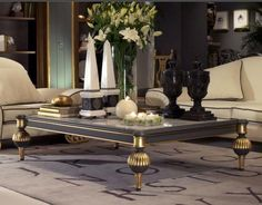 Luxury Coffee Tables Decorating