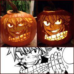 fairy tail natsu pumpkins - google search | pumpkin carving ideas