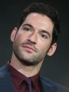 """Tom Ellis speak onstage during the """"Lucifer"""" panel discussion at the FOX portion of the 2015 Winter TCA Tour at the Langham Huntington Hotel on January 15, 2016 in Pasadena, California"""