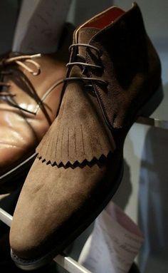Designer Chukka Boots