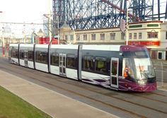 New 100 Million pound Blackpool tramway has opened.