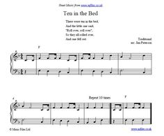 Ten in the Bed - children's counting song