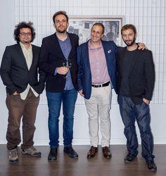 El trío Victor Atón y J. Antonio Fontal Álvarez