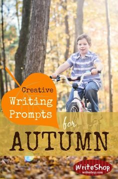 Creative writing prompts for autumn invite kids to write an autumn acrostic, create a fall wish list, or devise a plan to keep winter from coming!