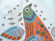 Nancy Nicholson - Bird stitch kit