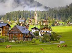 Inilah 9 Gambar Pemandangan Pegunungan dan Pedesaan Yang Menakjubkan