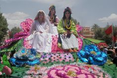 #Rose Festival #Kalaat M'gouna Morocco